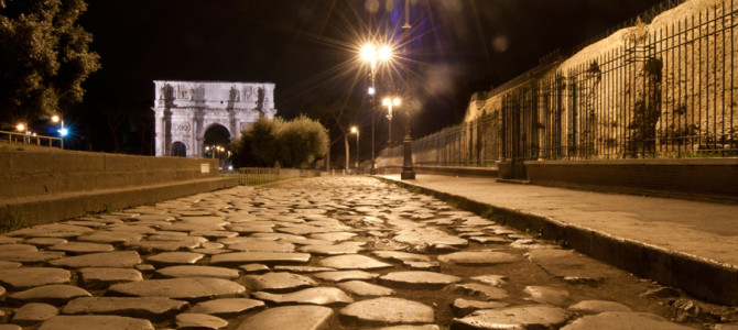 Tour Roma di notte